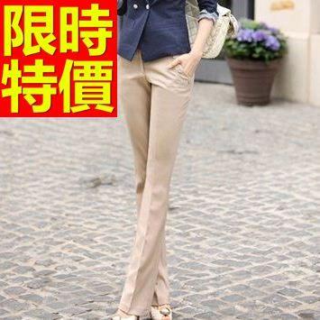 西裝長褲-OL新款氣質典型美觀愜意女褲子2色59z3【巴黎精品】