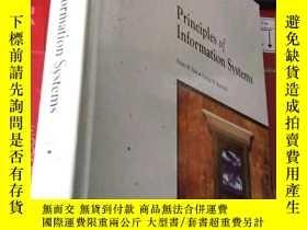 二手書博民逛書店Principles罕見of Information Syste