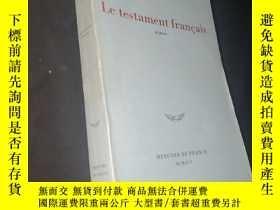 二手書博民逛書店Le罕見testament francais(roman)Y436455 AndreÏ makine Merc