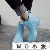 雨鞋 雨靴廚房低幫短筒雨鞋學生防滑水鞋膠鞋