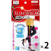日本製 SLIMWALK機能美腿襪 內搭型(2雙入)