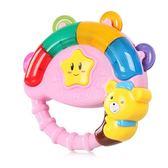 寶麗小熊搖鈴嬰幼兒益智玩具寶寶手抓握新生兒12月-1-2歲玩具WY【快速出貨】