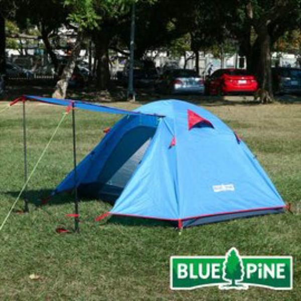BLUE PINE 2人鋁合金輕量帳 戶外 登山 露營 帳篷 B71701