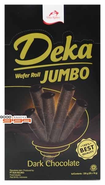 【吉嘉食品】Deka 典藏黑雪茄巧克力威化捲 1盒320公克20入,產地印尼 [#1]{8995077605109}