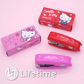 ﹝Kitty新釘書機﹞正版釘書機 折疊式釘書機 辦公小物 文具 凱蒂貓〖LifeTime一生流行館〗