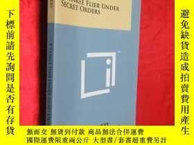 二手書博民逛書店A罕見Yankee Flier Under Secret Ord