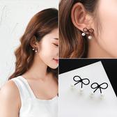 韓國個性耳墜氣質女耳釘網紅耳環長款新款潮 高級感小眾耳飾Ps:2048珍珠蝴蝶結