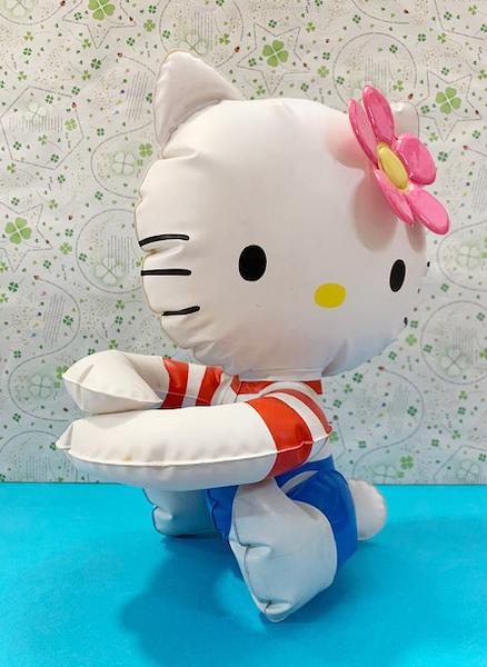 【震撼精品百貨】Hello Kitty 凱蒂貓~三麗鷗 KITT 充氣玩具-側坐*50972