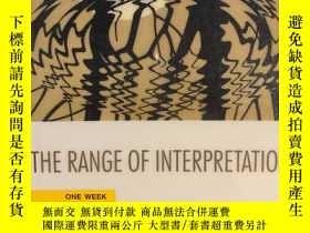 二手書博民逛書店The罕見Range of InterpretationY191