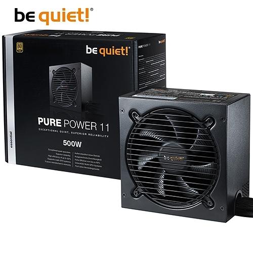 be quiet! PURE POWER 11 500W 80+金牌 電源供應器