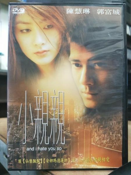 挖寶二手片-T02-021-正版DVD-華語【小親親】-郭富城 陳慧琳(直購價)