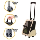 寵物包拉桿箱背狗狗外出便攜旅行包貓咪背包雙肩柯基泰迪法斗用品 小山好物