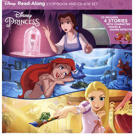 【迪士尼公主精選有聲書超值組】DISNEY PRINCESS READ-ALONG STORYBOOK /內含4書+1CD