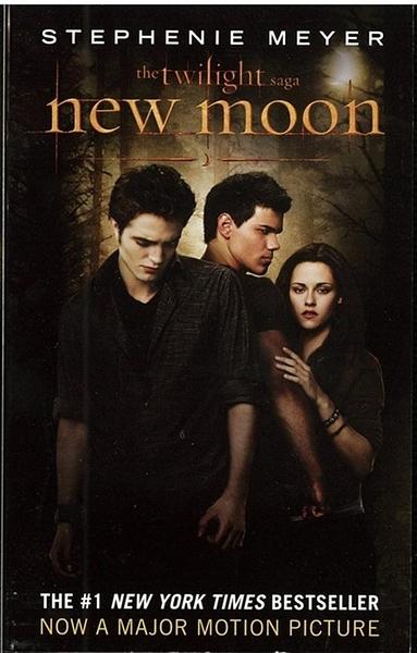 (二手書)Twilight Saga, Book 2: New Moon(Media Tie-In)(International Edit..