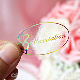 Invitation文字貼紙(喜帖封口貼.邀請卡封口用貼紙)-1張只要1元-幸福朵朵婚禮小物