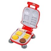 兒童橡皮泥彩泥無毒太空黏土超輕粘土漢堡機玩具 一木良品