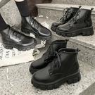 PAPORA厚底增高短筒學生鞋中筒靴短靴...
