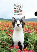 《神貓好事都花生》單層式L夾/紅花X蘇格登【臺北市流浪貓保護協會】