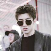 現貨-韓國ulzzang原宿高品質復古金屬鏡框 墨鏡/太陽眼鏡 男女通用款 275