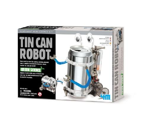 創意環保機器人 Tin Can Robot  誰的機器人跑的最快 造型最有創意