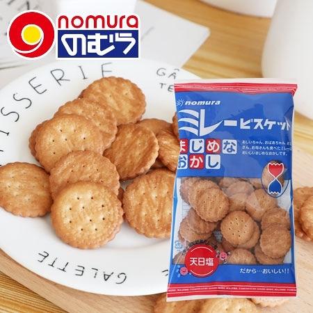 日本 野村煎豆 美樂圓餅 130g 餅乾 小圓餅 圓餅 美樂圓餅乾 傳統餅乾