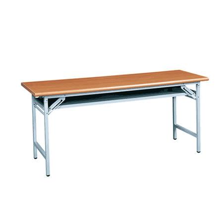 【YUDA】6*2.5木紋檯面會議桌/折合桌/折合桌/摺疊桌