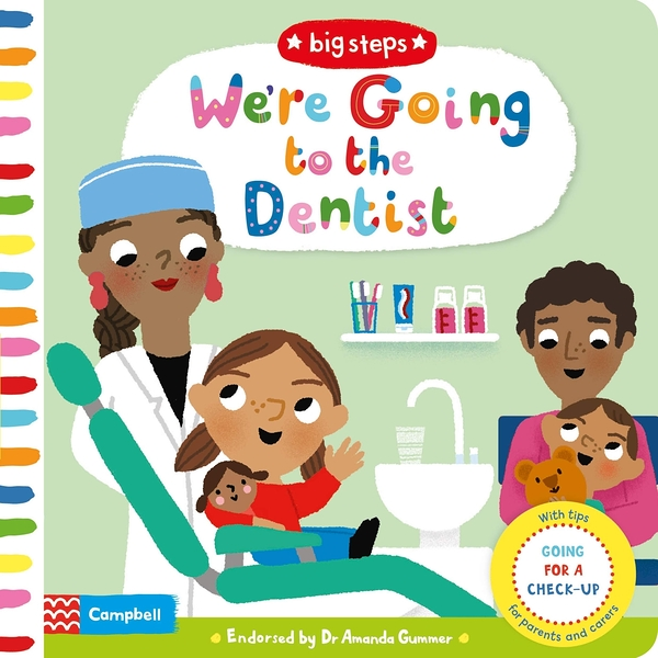 Big Steps:We're Going To The Dentist 生活練習:看牙醫操作書