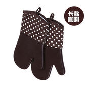 隔熱手套 烤箱防燙加厚烘培隔熱硅膠手套