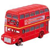 《 TOMICA 》汽車總動員 CARS - C - 39 雙層巴士╭★ JOYBUS玩具百貨