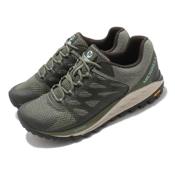 Merrell 戶外鞋 Antora 2 綠 黑 女鞋 登山鞋 郊山 健行 越野 低筒 【ACS】 ML035632