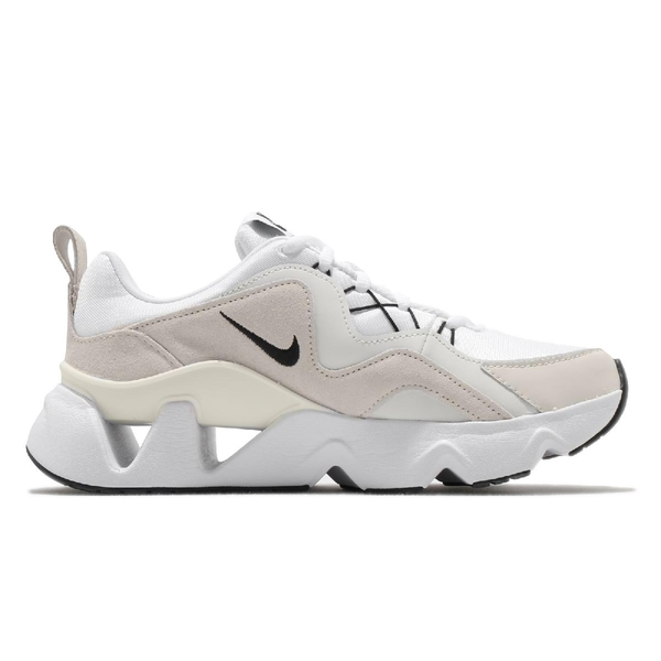 Nike 休閒鞋 Wmns RYZ 365 白 灰 女鞋 運動鞋 老爹鞋 孫芸芸 【ACS】 BQ4153-100