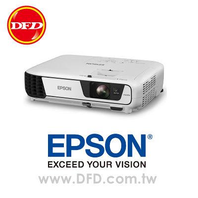 愛普生 EPSON EB-W32 WXGA寬銀幕簡報投影機 公司貨 流明度 3200 ANSI
