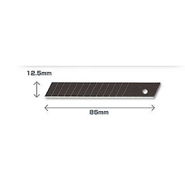 OLFA [中型美工刀]替換刀片 【FWB-10】 中型美工刀 FWP-1 使用之刀片 [10片/包]