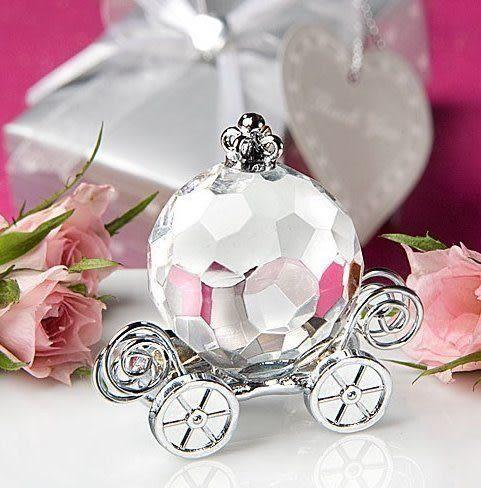 《婚禮小物-馬車水晶擺飾 /入》*喜糖/桌上禮/送客禮/二次進場