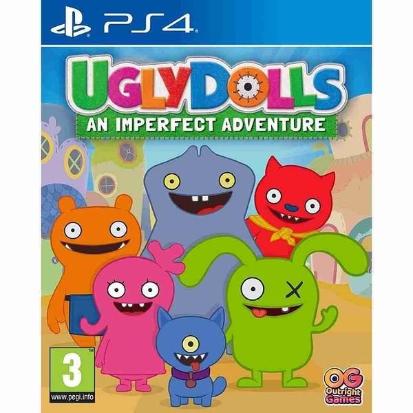 PS4 遊戲片 Ugly Dolls: An Imperfect Adventure 醜娃娃:一場不完美的冒險