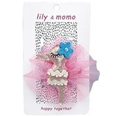 【美國 Lily & Momo】手工童趣髮飾- 粉嫩小海馬 #HCA409