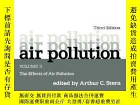 二手書博民逛書店Air罕見Pollution Volume 2: The Effects Of Air Pollution-空氣汙