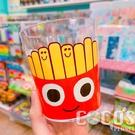 日本 漢堡薯條 BURGER CONX 薯條弟水杯 透明杯 水杯 杯子 280ml COCOS PP049