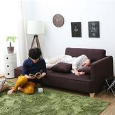 小戶型雙人轉角l型貴妃 北歐布藝沙發 日式現代客廳簡易沙發jj