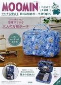 MOOMIN慕敏家族可愛單品:兩段式旅行收納包