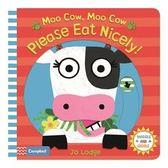 下殺66折!! 【幼兒操作書】MOO COW MOO COW, PLEASE EAT NICELY? /操作書《主題: 生活自理》