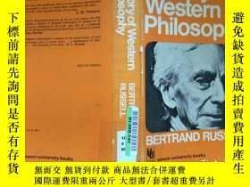 二手書博民逛書店History罕見of Western Philosophy,