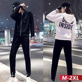時尚休閒長袖外套+運動長褲套裝 M-2XL O-ker歐珂兒 176003-2