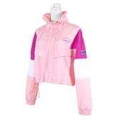 Skechers Outerwear [L121W039-0093] 女 外套 短版 立領 防風 薄款 兩側口袋 粉紅