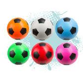 【美國POOF】標準7.5吋軟質足球(亮彩)(顏色隨機出貨)