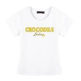 『小鱷魚童裝』燙珠上衣(08號~20號)555454