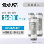愛惠浦 10英吋前置樹脂濾芯3支_RES-100