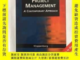 二手書博民逛書店Project罕見Management A contempora