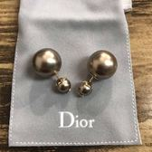 ■專櫃74折■2019新品■Dior Tribales 金色珍珠耳環