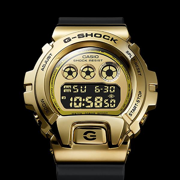 CASIO 卡西歐 G-SHOCK DW-6900 25周年金屬手錶 GM-6900G-9